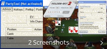 Screenshot-Collage für Holdem Bot