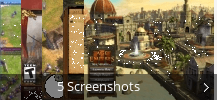 Screenshot-Collage für Age of Empires III