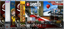 Screenshot-Collage für Swiss Casino