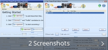 Screenshot-Collage für E.M. Free PowerPoint Video Converter