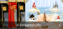 Screenshot-Collage für 5 Realms of Cards