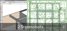 Screenshot-Collage für SketchUpBIM