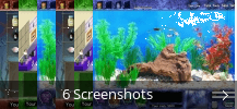 Screenshot-Collage für Fish Tycoon