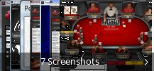 Screenshot-Collage für Poker4ever