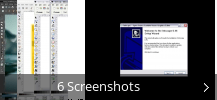 Screenshot-Collage für Inkscape