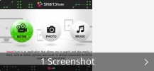 Screenshot-Collage für LG Smart Share