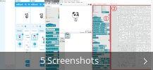 Collage de captures d'écran pour mBlock