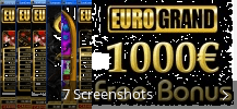Screenshot-Collage für EuroGrand Casino