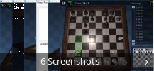 Screenshot-Collage für Chess Pro 3D