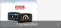 Screenshot-Collage für MoTeC C127 Dash Manager