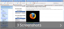 Screenshot-Collage für Windows Media Player Firefox Plugin