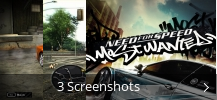 Screenshot-Collage für Need for Speed™ Most Wanted