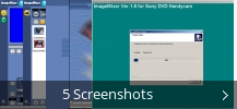 Screenshot-Collage für ImageMixer for Sony DVD Handycam