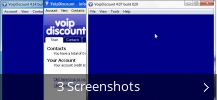 Screenshot-Collage für VoipDiscount
