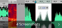 Screenshot-Collage für Adobe Soundbooth CS3