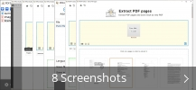 Screenshot-Collage für PDF24 Creator