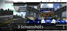 Screenshot-Collage für Police Supercars Racing