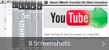 Screenshot-Collage für Xilisoft YouTube HD Video Downloader