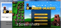 Screenshot-Collage für Bomber Mario